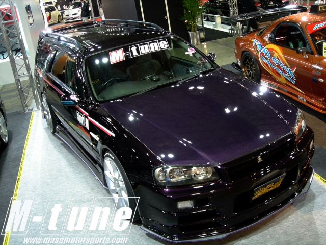 M-34R/M-34R GT ボンネット