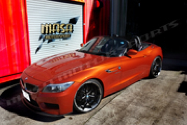 BMW Z4 E88 カーラッピング
